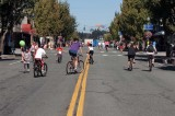 Car-free Commercial Ave on a Warm Sunday