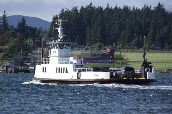 Guemes Ferry Haul-Out Starts Next Week