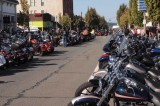 City Fills with Motorcycles & Riders