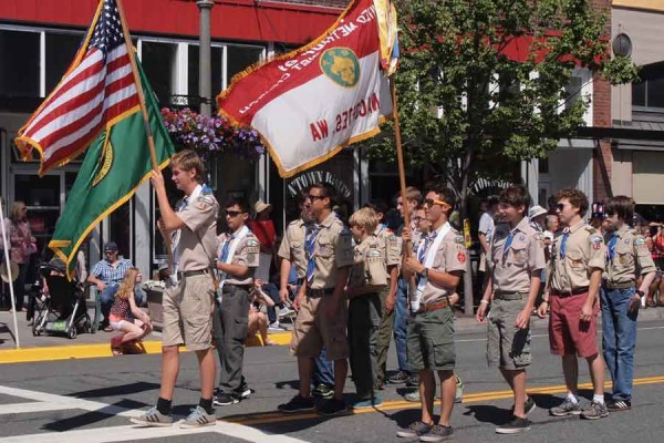 Parade Celebrates the Fourth in Anacortes