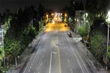 City gets new white overhead street lights