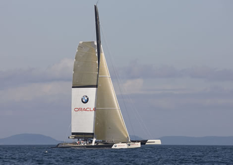 Anacortes Now - America's Cup yacht sails